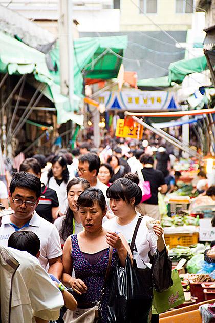 Einkaufen in Busan