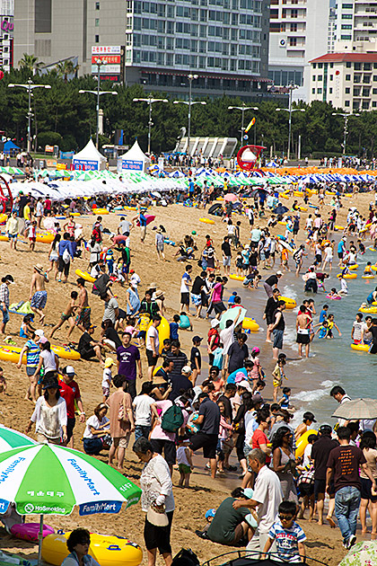 Crazy Beach In Korea