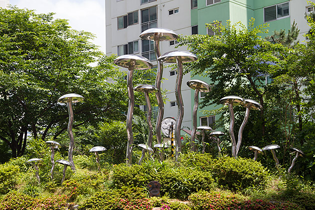 Steel Mushrooms
